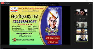 Engineers' day, ICFAI Jharkhand